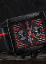 Reloj de lujo de los hombres del cuarzo del cuero genuino de NAVIFORCE