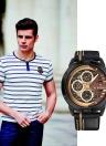 Reloj de cuarzo casual NAVIFORCE Fashion 3ATM Relojes de cuarzo resistente al agua
