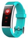 """BT4.0 Pulsera inteligente a prueba de agua 0.96 """"Pantalla táctil de colores Pulsera inteligente Rastreador de ejercicios Ritmo cardíaco Podómetro Alarma de sueño Compatible con iOS y Android"""