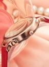 REBIRTH Fashion Women Watches 1ATM Water-resistant Quartz Casual Simple Woman Wristwatch Relogio Feminino