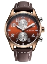 OCHSTIN Water Resistant Analog Men's Quartz Watch with Calendar