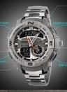 SKMEI Analog-Digital LED Display Sports Multifunction Man Wristwatch