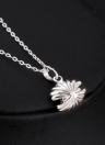 Женщина Girl моды позолоченный Rhinestone Кристалл Shell ожерелье ключицы цепи ювелирных изделий для партии подарка венчания