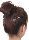 Vintage retro da forma bonito delicada bonita Ramos Antlers liga Pigtail Hairclip clipe Barrettes Jóias Garra Updo Hairpin Princesa Noiva Mulheres Meninas cabelo creativo Acessórios