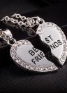 Collier avec pendentif en forme de coeur