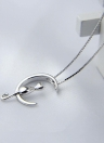 Mignon Fine Chat Lune Pendentif Collier Belle Loisirs Chaîne Collier Femmes Bijoux Cadeau Accessoire De Mode