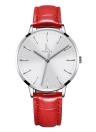 IK Coloring Moda Mulher Relógios Quartz 1ATM impermeável Casual Woman Relógio de pulso Relogio Feminino