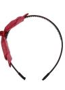 Art und Weise doppelte Schicht Blumenbogen Hairbands Korea Kaninchenohren Stirnband