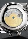 GUANQIN Hombre de lujo mecánico resistente al agua reloj de cuero genuino