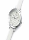 Vilam Quartz Rhinestone Crystal 3 ATM Water Resistant PU Leather Wristwatch