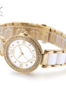 SK Luxury Diamond Ceramic Quartz Elegant Casual Feminino Ladies Watch