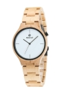 Redear Fashion Casual Watch Men Quartz Watch Wooden Band Wristwatch