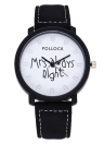 Mode Casual Ms Always Right Quartz Analog Watching