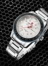 NAVIFORCE Sport Quartz Watch 3ATM Relógios Relógios Musculosos Relógios Relógios Relógios Masculinos Relógios Relógios