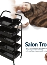 Carrelli per i capelli Carrelli per carrello Rolling Cart Salon Storage Cart Coloring Cart