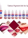 Татуировки пигмента перманентного макияжа цвета чернил Косметика бровей подводка для глаз Татуаж губ