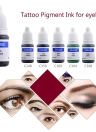 Tattoo Pigment Permanent Makeup Color Ink Cosmetics Eyebrow Eyeliner Lip Tattooing