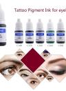 Tatuaje pigmentos maquillaje permanente Color tinta cosméticos cejas delineador labios tatuaje