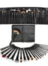 Abody 24Pcs Professional Makeup Brush Set Essential Kit com saco preto