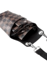 Barber Holster Pouch Titular Rivet Cabelo Scissor Bolsas clipes PU cintura Leather Shoulder Belt