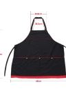 Salon Apron Hairdressing Cape for Barber Hair Cloth Cutting Dyeing Cape Black
