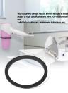 Hair Dryer Holder Wall Mount Hair Dryer Holder Rack Steel Hair Dryer Stand Bathroom Storage Organizer Hanger