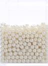 Cuentas de perlas sueltas de perlas de acrílico de 8 mm para la herramienta de decoración de fabricación de joyas de relleno de jarrón (aprox. 1800 piezas)