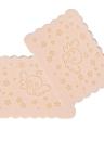 2pcs cara de soplo facial esponja limpia esponja de lavado herramienta de limpieza facial esponja puff color al azar