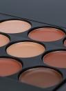 15 colori Abody truccare correttore viso crema Palette #1 con il trucco pennello contorno Camouflage cosmetico strumento formato Mini per le donne