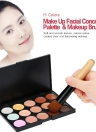 Abody Paleta de Maqullaje 15 colores Corrector profesional de alta calidad Crema Corrector para cara controno con un Pincel de maquillaje