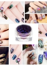1pc Chorme Glitter Metallic Shinning Decoration Nail Powder