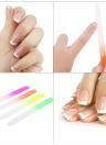 4pcs Cristal lixa de unhas Nail Art Ferramenta Manicure colorido Lixar lustrando Ferramenta de manicure polimento prego Ferramenta Art