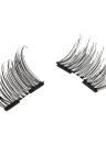 Europeu e americano Hot Style 3D Espátulas falsas magnéticas sem necessidade de cola de ímã duplo