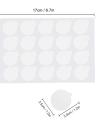 500pcs Professional Disposable Eyelash Extension Glue Sticker Patches Eye Lash Extension Glue Sticker Pads Adhesive Glue Pallet