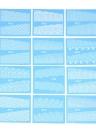 48 folhas Conjunto de etiqueta de unha Padrão misto Dica de papel de unha Conjunto de estilo de unha DIY Watermark Manicure Tattoos