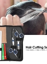 Professional Hair Cutting Scissors Set Barber Shears Hair Thinning Kit Salon Home Hairdressing Tool