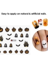 1 pc/12 sets Nail Manicure Decals Christmas Stickers Set Nail Art DIY Tools
