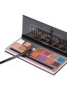 FOCALLURE 14 colores Paleta de sombras de ojos Pearlized Shimmer mate Set de sombras de ojos Powder Makeup Cosmetics