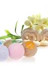 6 pcs Bombas de banho orgânicas artesanais Bolos de banho de bolha Esfera Óleo essencial SPA Stres