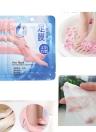 1 Par Comfort Exfoliating Peel Foot Masks 2 Unids Baby Soft Feet Remove Scrub Callo Duro Piel Muerta Vinagre de Bambú Pies Cuidado de Pedicura Sosu Calcetines