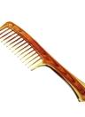 Pele Peito Salon Hair Cutting Styling Pele De Dentes Largos Peito De Cauda Anti-Static Hairdressing Brush
