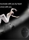 Noir Surface Bord Rouge Nouveau Huit Abdominale Muscle Prendre la Forme Helper Househeld Exercice Fitness Équipement Corps Minceur Fat Burning Exerciseur Corps Musculaire Fitness Électrique Muscle Trainers Machine Électrique Stimulateur Musculaire