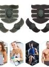 Black Surface Yellow Edge Smart Fitness Kit Elettromagnetico addominale della macchina muscolare Stimolatore ABS EMS Trainer Fitness Perdita di peso Corpo Dimagrante Massaggio