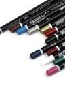 12 Farbe Multifunktions Eyeliner Charming Eye Builder Wasserdicht Eyeliner Bleistift Werkzeug P08005 # 001 # 006 # 016 # 019 # 022 # 028 # 033 # 034 # 035 # 036 # 038 # 040