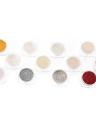 Chrome clavo en polvo de 12 colores Espejo del clavo del brillo del clavo metálico en polvo Shinning del clavo del polvo del polvo de uñas de arte herramienta de la decoración polvo de gel
