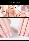 Nail Cutter cuticules Nail toilettage Outil outil de manucure Nail Clipper Nipper en acier inoxydable doigts et des ongles des orteils Outils cuticules Scissor