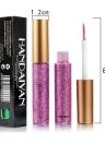 10 Colors Glitters Eyeliner Makeup Women Shiny Long Lasting Eye Liner Cosmetic Eyeshadow Tool Waterproof Shimmer Pigment Liquid HANDAIYAN