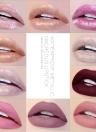 Handaiyan Waterproof Metallic Nacreous Without Attenuation Long Lasting Liquid Face Lipstick Metal Lip Meta Lipstick