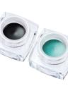 Huamianli Rainbow Cloud Eyeliner a prueba de agua de larga duración Eye Liner Crema de gel de maquillaje cosméticos con 2 cepillos