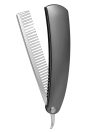 Spazzola da spazzola maschio portatile da spazzola pettine da mini pettine da barba pieghevole in acciaio inox